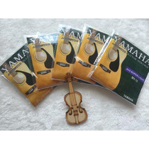 Encordoamento Violão Mix Yamaha/ Fender E Andrew Cor 18 Und