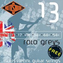 Encordoamento Rotosound R13 0.13-0.54 Roto Greys P/ Guitarra