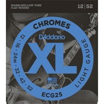 Promoção! D Addario Ecg25 Encordoamento Guitarra Chromes 012