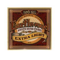 Encordoam. P/ Violão Ernie Ball Earthwood 011 Light Aço 9390