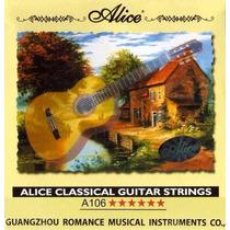 Encordoamento De Violão Classico Nylon Alice Frete Barato