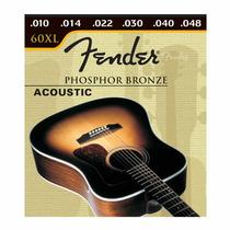 Encordoamento Fender 0.10 - Violão Aço