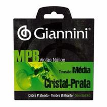 Encordoamento P/ Violão Nylon Giannini Genws Mpb Cristal 965