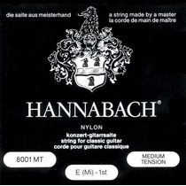 Enc Violao Hannabach E800mt Nylon Tensao Media Bl/sil, 01446
