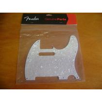 Escudo Fender Telecaster White Pearloid - Novo