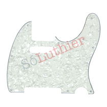 Escudo Guitarra Telecaster - Branco Perolado