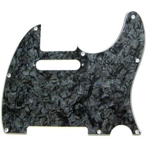 Escudo Pearloid Preto Guitarra Tele Fender Tagima Sx Condor