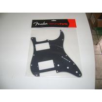 Escudo Fender Strato Preto 2 Humbucker Black Top - Novo