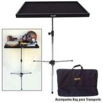 Mesa De Percussão Torelli C/ Pedestal E Bag Ta 185