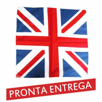 Bandana Lenço Bandeira Inglaterra Reino Unido 55x55cm- Rock