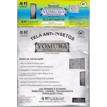 Tela Mosquiteira Protetora Insetos Janelas Yomura 1,20 X1,40