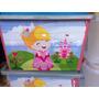 Caixa Plastica Container Organizadora 50 Litros Princesa