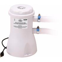 Bomba Filtro Para Piscina 2.200l/h 110v Mor + Refil Incluso