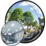 Espelho Convexo De 20 Cm De Diâmetro Amplia Campo De Visão