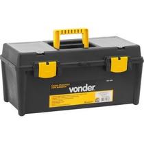 Caixa Plástica/maleta Vdc 4035 Com 1 Bandeja Vonder