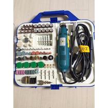 Kit Mini Retifica C/161 Acessórios 110v