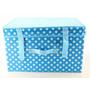 Caixa Organizadora Dobrável Plástico Papelão Multiuso Box G