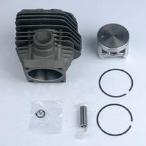 Kit Cilindro Motosserra Stihl 066 660 C/ Pistao Aneis +nf