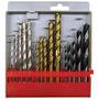 Jogo De Brocas C1502 Para Concreto, Madeira E Aço - 15 Peças