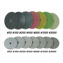 Kit Disco Lixa Diamantado Polimento Granito Mármore Vidro