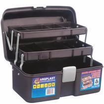 Caixa Mala Maleta Plástica Multiuso Organizadora Manicure