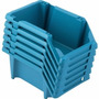 Gaveteiro Gaveta Plástica Jogo Com 6 Peças Prático Nº 3 Azul