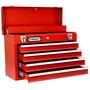 Caixa De Ferramentas Gabinete Com 4 Gavetas Vermelha Stanley