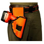 Kit Cartucheira Coldre Porta Furad. T99 + Cinto Toolmen T95
