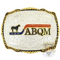 Fivela Abqm Banho Dourado Prata - Sumetal 4785