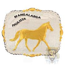 Fivela Mangalarga Paulista Banho Dourado - Sumetal 5331