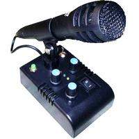 Mic De Ganho - Microfone De Mesa Mc-5x C/eco/65 Beep,s Bip