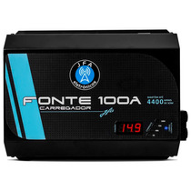 Fonte Automotiva Digital Jfa 100a Bivolt Carregador Bateria
