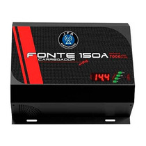 Fonte Automotiva Digital Jfa Turbo 1500 150a 14.4 V Bivolt