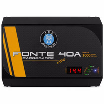 Fonte Carregador Bateria Carro Digital Jfa Turbo 40a Bivolt