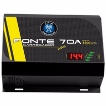Fonte Automotiva Digital Jfa Turbo 70a Bivolt Paredão 3500w