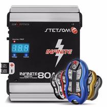 Fonte Automotiva Stetsom 80 Amperes + Controle Sx2 Completo