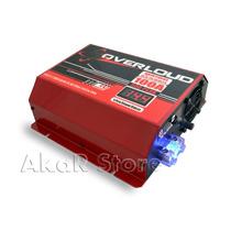 Fonte Automotiva Overloud 100a Bivolt Voltimetro Som Bateria