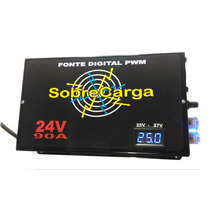 Fonte E Carregador 90a 24v Bi-volt Automatico