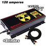 Fonte Usina Spark 120 Amper 12 14 Volts Voltimetro + Brindes