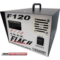 Fonte Carregador Bateria 120 Ah Motor Home, Telecom, Som
