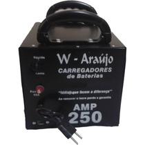 Fonte Automotiva 250 Amp Carregador De Baterias Chupa Cabra