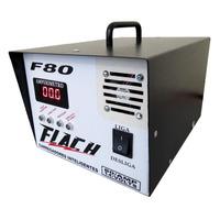 Carregador De Baterias Automático Flach F80 Flutuante O Top