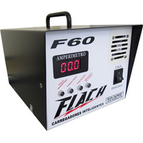 Carregador Inteligente Flach 60 Amp Com Auxiliar De Partida