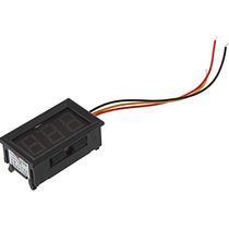 Voltímetro Digital Com Remote 0~100v Bateria Som Carro