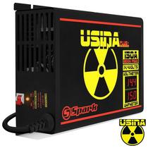 Fonte Spark Usina 150 A 14,4v C/voltimetro Bivolt +3 Brindes
