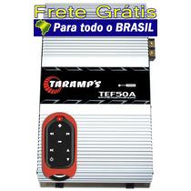 Fonte Automotiva Taramps Tef-50 + Controle Longa Distância