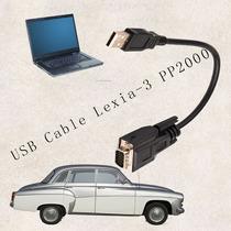 Cabo Usb Car Automotive Para Lexia3 Pp2000 Connector Diagnos