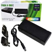 Fonte Xbox 360 Super Slim Bivolt 110v 220v 135w Cabo Força
