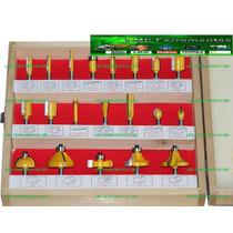 Fresas 6mm Com 20 Peças - Para Tupia Manual E Coluna
