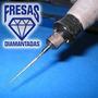 Pontas Diamantadas P/ Dremel E Outras Retificas Tipo Agulha